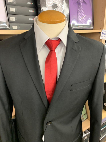 MEN'S SUITS (SMART FIT SUITS) BLACK