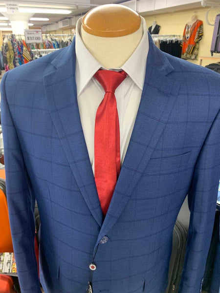 MEN'S SUITS (SMART FIT SUITS) BLUE DESIGN