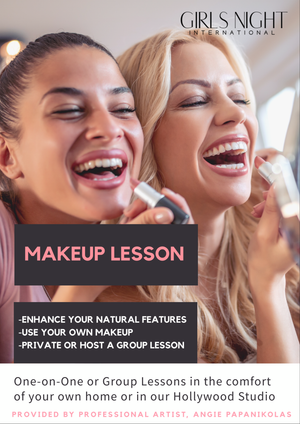 Private Makeup Lesson - girlsnightinternational