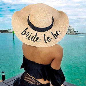 Bride to Be St Tropez Hat
