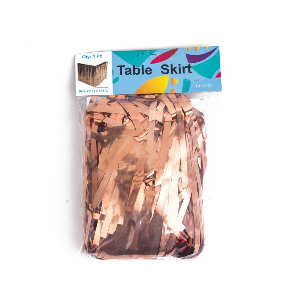 Blingy Drizzle Table Skirt