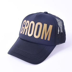 Groom Classic Hat. Gold