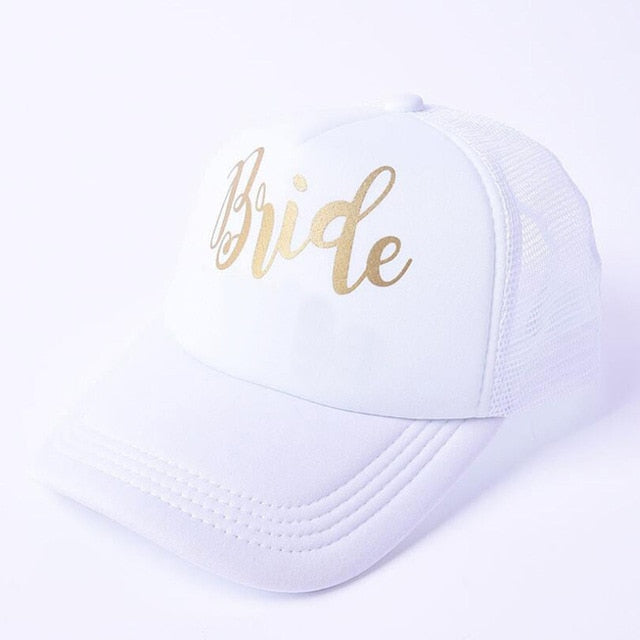 Bride Bella Hat. Gold