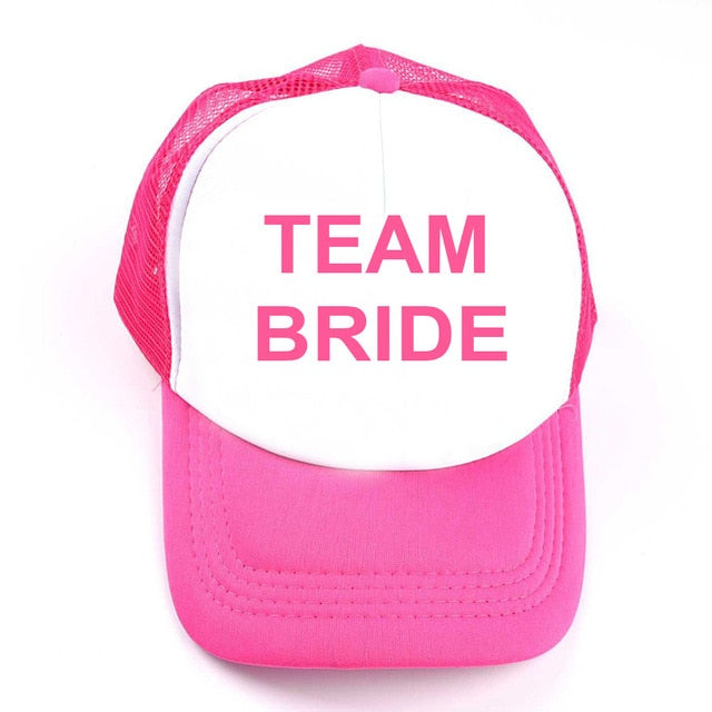 Team Bride Lovey Hat