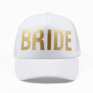 Bride Squad Boo Hat