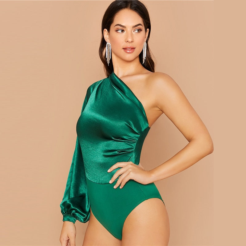 Satin Kiss Bodysuit - girlsnightinternational