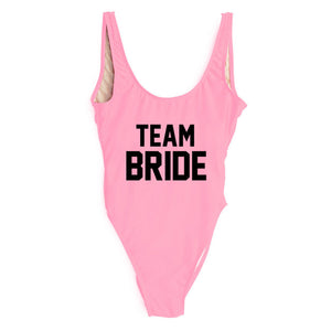 Team Bride Classic Suits. Black Text