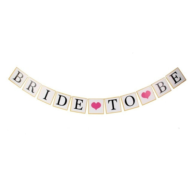 Bride to Be Sweet Minimalist Banner