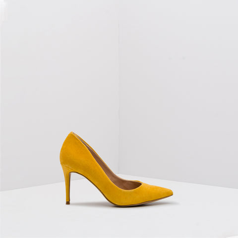 LILLIE YELLOW SUEDE