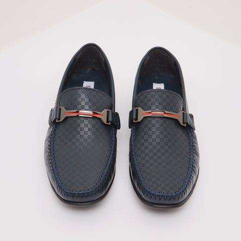 RALPHIE NAVY LEATHER