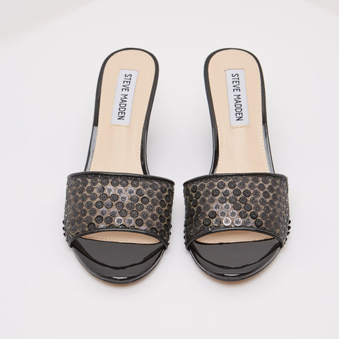 SB-LILAH BLACK SEQUIN