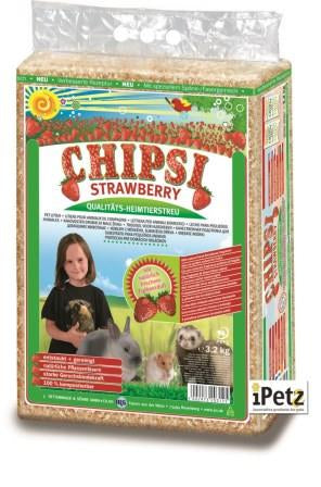 Chipsi Pet Bedding Strawberry 3.2kg