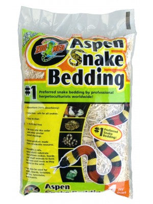 Zoo Med Aspen Snake Bedding 1 Quart 1.1ltr
