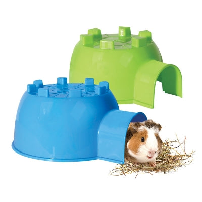 Pet One Small Animal Igloo - Large (Blue)