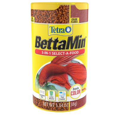Tetra Betta 3-in-1 Select-A-Food