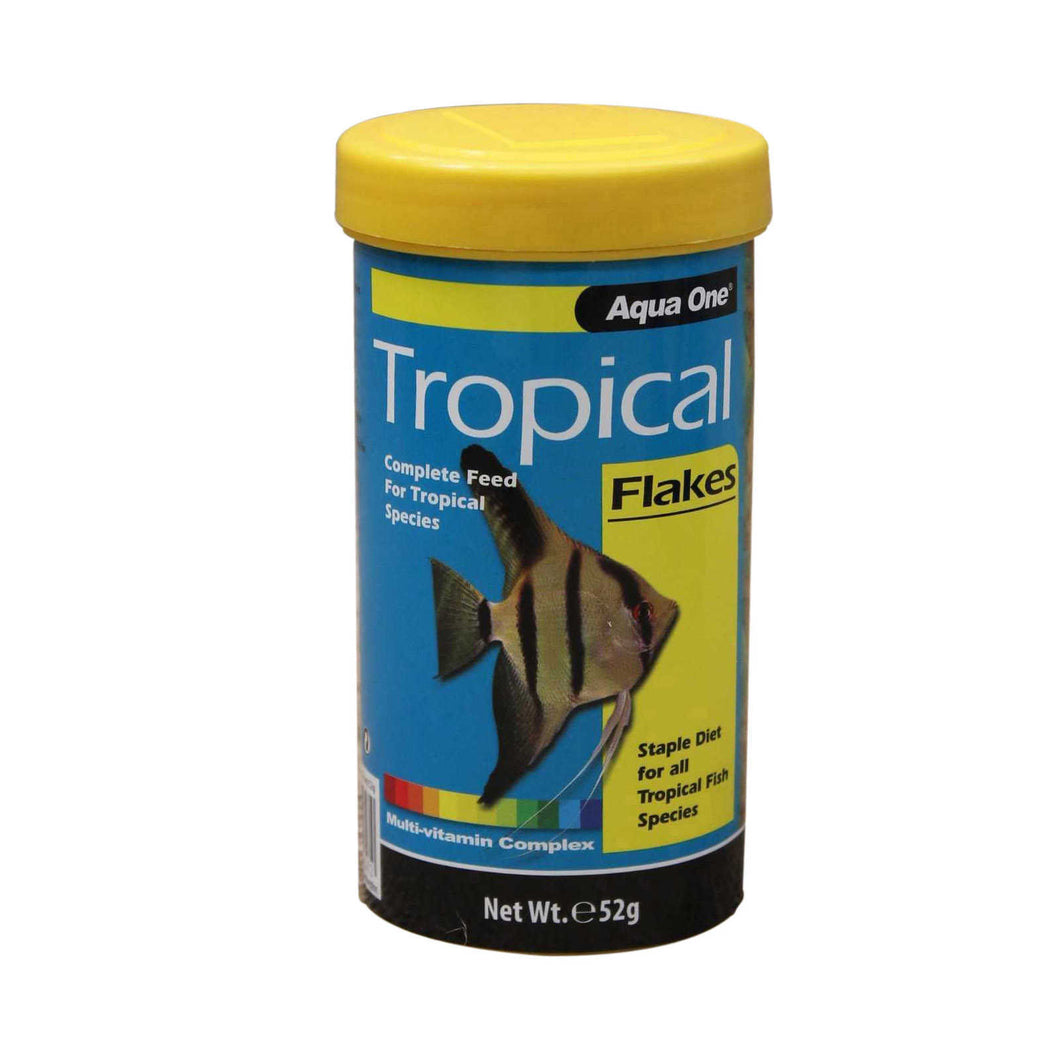 Aquaone Tropical Flakes 52g
