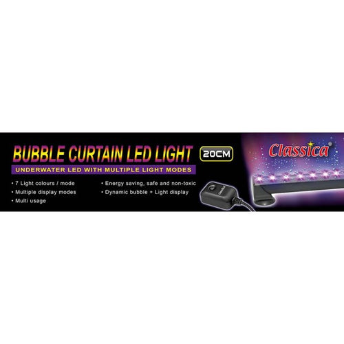 Classica Bubble Curtain LED Light - 20cm