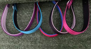 Two-Toned Nylon Collar 50cm Red/Blue