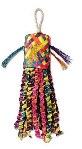 Feathered Friends Pinata Rasta 35x8x8cm