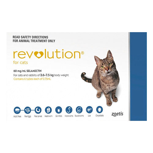 Revolution for Cats 2.6 - 7.5kg