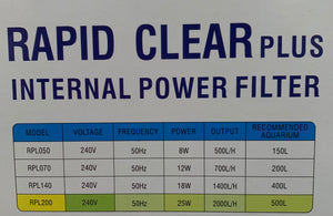Rapid Clear Plus 2000 L/H