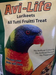Avi-Life Lorikeets All Tutti Fruitti Treat 500g