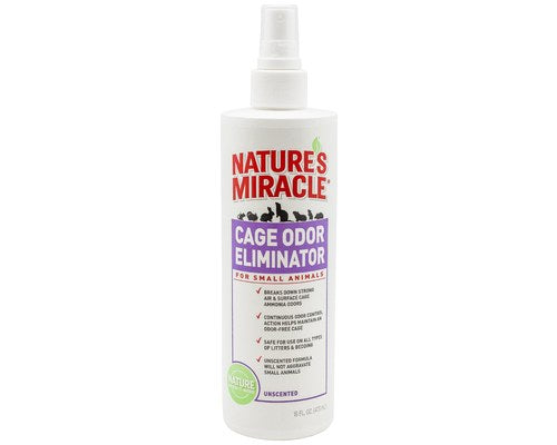 Nature's Miracle Small Animal Cage Odor Eliminator