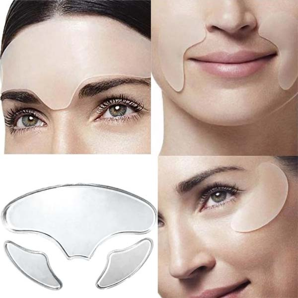 patches silicone visage