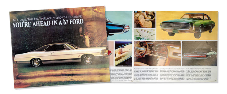 1967 Ford Sales Brochure