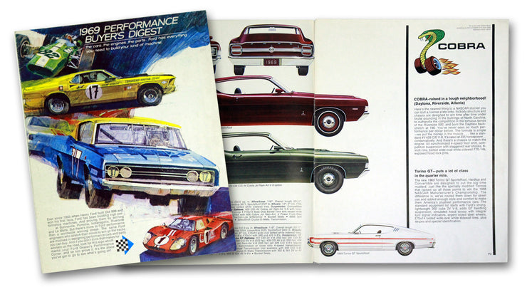 1969 Ford Performance Buyers Digest