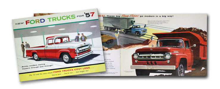 Ford Trucks of 1957 Brochure