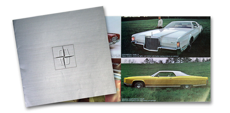Ford Lincoln Continental Brochure