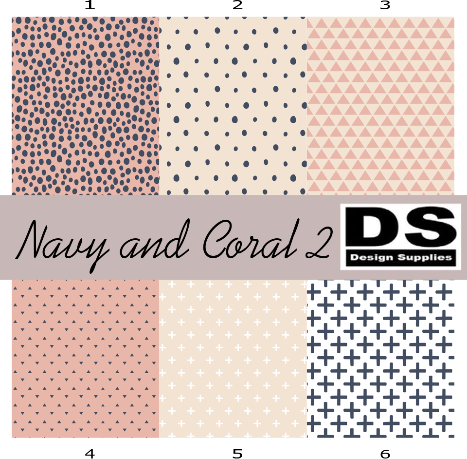 Navy and Coral 2