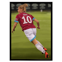 Poster - Julia Simic | West Ham United Poster