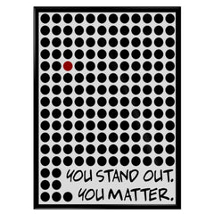 You Stand Out Poster
