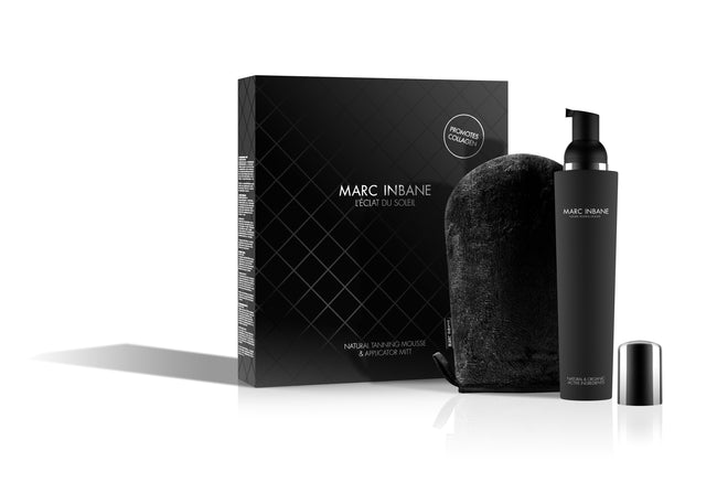 Marc Inbane L'éclat Du Soleil (Naturel Tanning mousse 150 ML + Glove)