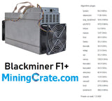BlackMiner F1+ Worlds BEST FPGA MINER - MIning Crate PSU Included - Ships from USA