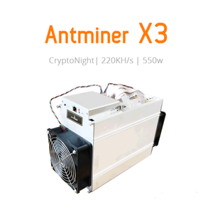 Antminer X3 Overclocked 300 Kh/s CryptoNight ASIC - MiningCrate.com Exlusive X3 Modified firmware Voltage