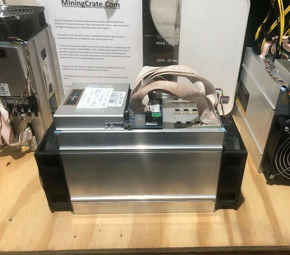 Tuned Antminer T9+ 🔥13TH/s MiningCrate.Com Custom Firmware🔥 2 Stage per chip Tune - Unlocked Factory Bitmain T9 Firmware ON REQUEST