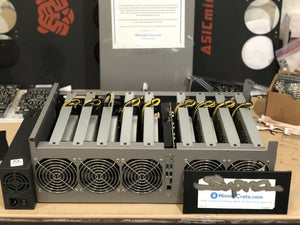 MiningCrate built NEXT GENERATION 7nm ETH GPU Miner: Over 500MH/s Under 1000watt AT THE WALL - STATS to rival the innosilicon A10 ETH miner BUT USING GPUs for a much more versatile and LONGEVITY