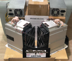 Antminer Z11 - 140Ksol/s - NEW Equihash miner from Bitmain - IN HAND  USA NOW SHIP