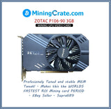 ZOTAC P106-90 3GB Mining Video card 💥NVIDIA 1060GTX GPU Without Display Ports💥 geforce Nflash BIOS moded P106-090