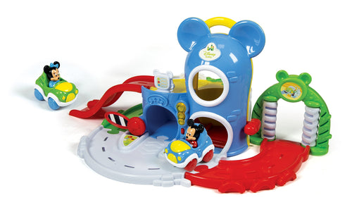 Disney Baby Mickey Garage Interactivo - Clementoni 17058