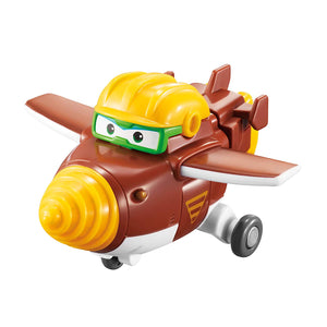Super Wings  Set de 4 Figuras Transformables - Alpha Group 42029106