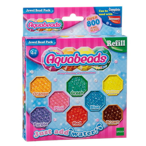 Aquabeads Refill Jewel Bead Pack Recambios Brillantes - Epoch 79178