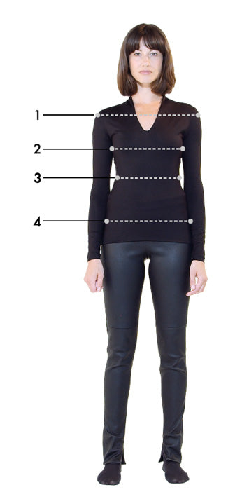 designer clothing measurements