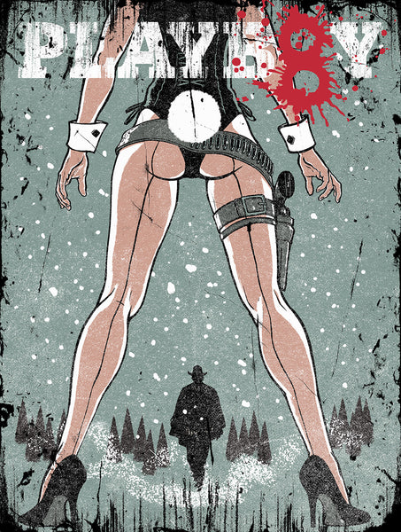 Playboy Hateful Eight print