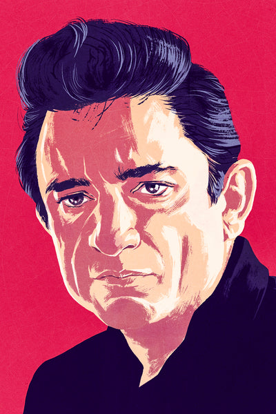 Johnny Cash print