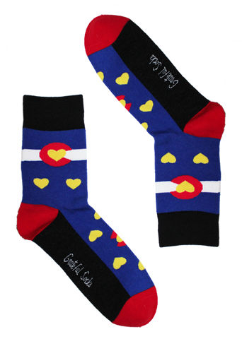 Colorado Heart Sock