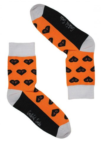 San Francisco Heart Sock